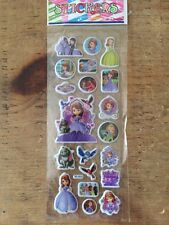 Princess Sofia Puffy Cartoon Stickers-scrapbooking-card making-crafts-5 For 4!!
