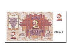 Billets, Lettonie, 2 Rubli type 1992 #153528
