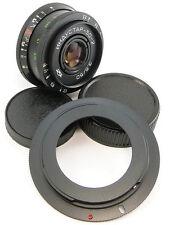 Virtually NEW! INDUSTAR 50-2 USSR Lens Canon EOS EF Mount 6D 7D 5D S MARK II III