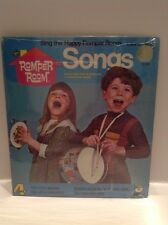 Peter Pan Records SING THE HAPPY ROMPER ROOM SONGS LP 70s Sealed  Nos