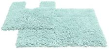 Unbranded Solid Pattern Square Bath Mats