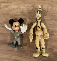 Disney Parks - Epcot Test Track - Mickey Mouse & Goofy - Action Figures - 2 Pack