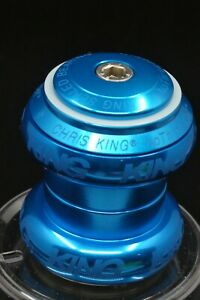 """1-1/8"""" Chris King TURQUOISE NoThreadSet Sotto Voce Headset - NEW - NOS"""