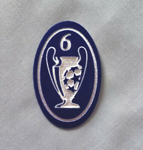 UEFA Champions League 6 Times Winner BOH 6 Badge Of Honour Patch