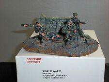 CONTE WW2-069 PRIS EN CROSSFIRE PARTIE 2 SECONDE GUERRE MONDIALE JOUET SOLDAT