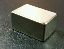 "Neodymium Cube Magnet N52 Grade Super Strong Rare Earth Block 3/4"" X 1/2"" X 3/8"""