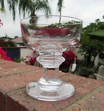 4 DANSK CRYSTAL CARLA CHAMPAGNE SHERBET GLASSES