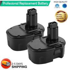 2 Pcs 14.4V NI-CD Battery for DEWALT 14.4 VOLT DC9091 DW9091 DW9094 Power Tool