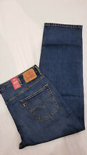 Levis 550 Mens Comfort Stretch Relaxed Jeans BIG & TALL 58X32 #015500014 W58L32