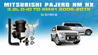ProVent Oil Catch Can Filter Kit for Mitsubishi Pajero NM NX 4M41 3.2L 2006-2015
