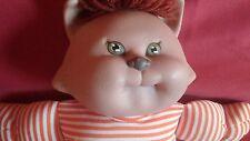 Cabbage Patch Kids Doll Koosas Brown Cat Striped 1983