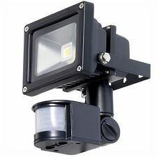 10W LED Low Energy Outdoor Security Flood Light PIR MOTION Sensor Cool White