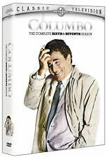 Columbo The Complete 6th & 7th Seasons DVD Set New And Sealed!