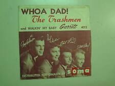 "TRASHMEN: Whoa Dad! 2:41-Walkin' My Baby-U.S. 7"" Garrett Records GA 4012 DJ PSL"