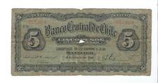 Chile -  Five (5) Pesos, 1928