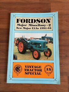 Fordson Major Miscellany Vintage Tractor Special Book