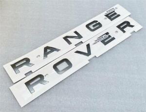 NEW GENUINE RANGE ROVER SPORT BONNET BADGE DECAL*SHADOW GREY*