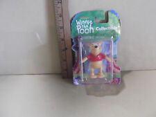 """Disney Winnie the Pooh 3""""in Pooh Bear Figure/Cake Topper Fisher Price"""