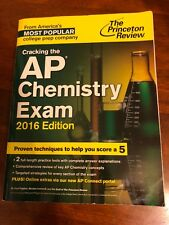 College Test Preparation: Cracking the Ap Chemistry Exam, 2016 Edition by Princ…