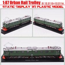 New 1:87 Urban Rail Trolley EI 12.2115+12.2116 Static Display 3D Plastic