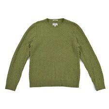 GANT RUGGER Herren Pullover M 50 ALPAKA WOLLE knit Sweat Pulli Jumper Zopfmuster