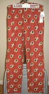 Washington Redskins NFL Classic Burgundy Team Logo Large Pajamas