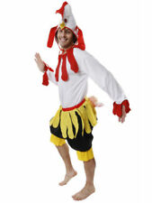 Mens Adult One Size Chicken Rooster Fancy Dress Costume Party Stag Night Costume