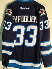 Reebok Premier NHL Jersey Winnipeg Jets Dustin Byfuglien Navy sz L