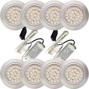 Superflache LED Möbelspots Einbaustrahler Mira | 12V | 2,4W | Loch 58 bis 60mm |