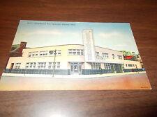 1940s Greyhound Bus Terminal, Dayton, OH Vintage Postcard