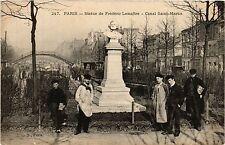 CPA PARIS 10e - Statue de Frederic Lemaitre Canal Saint-Martin (254408)