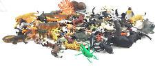 Huge Lot Assorted Zoo Wild Jungle Forest Dinosaur Animals Plastic Figures Toys