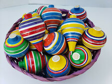 TROMPO **NEW ITEM**  SPINNING TOP CLASSIC WOODEN TOY