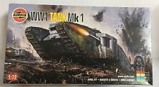 Airfix WW1 Tank Mk1 Model Kit Scale 1/72, Nuevo