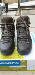 Scarpa Mens Ranger 2 Gtx Gore Tex Walking Boots Size 44 ebony