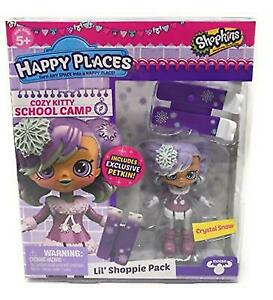 Shopkins Happy Places S4 Crystal Snow - Cozy Kitty School Camp
