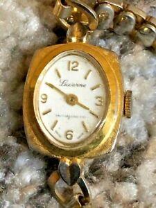 Vintage Swiss Made Mechanical Lucerne Ladies Watch Expandable Bracelet