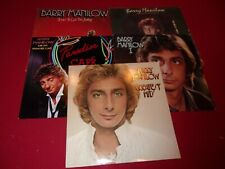 LP RECORD ALBUM BARRY MANILOW LOT OF 9