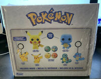 Funko Pop! POKEMON GAMESTOP COLLECTOR'S BOX Flocked Pikachu Flocked Squirtle NIB