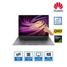 """HUAWEI MateBook X Pro 13.9"""" QHD Touchscreen Laptop Core i5-8265U, 8GB, 512GB SSD"""