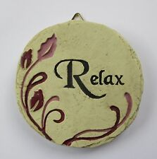 b Relax Mini Plaque fairy garden stepping stone Ganz Polystone