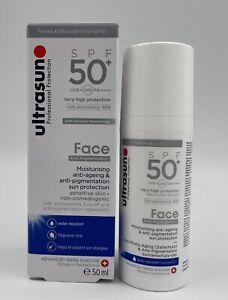 Ultrasun FACE ANTI-PIGMENTATION SPF 50+  (SILVER)  50 ml