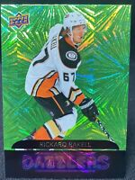 Rickard Rakell - DZ-1 2020-21 Upper Deck Series 1 Green Dazzlers  Anaheim Ducks