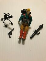1989 GI Joe DOWNTOWN (v1) MORTAR MAN Vintage Cobra Hasbro