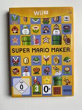 Wii U - Super Mario Maker - Game