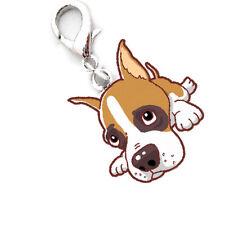 Boxer Hund Anhänger für Kette, Schlüsselbund, Armband etc. Hund Schmuck