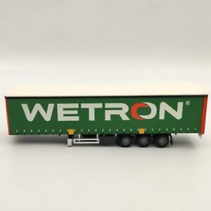 LionToys 1/50 Daf XF Wetron Curtainsider Trailer Only Diecast Models Used