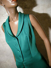 CHIC VINTAGE ROBE 1970 VTG DRESS 70s KLEID 70er ABITO ANNI 70  RETRO (38/40)