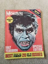 VINTAGE FAMOUS MONSTERS 1967 YEARBOOK SUMMER/FALL