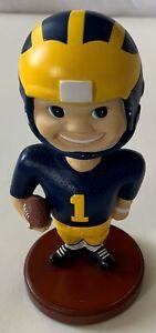 Memory Company 2001 University of Michigan Football Bobbin Head Bobblehead
